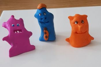Online Kids Polymer Clay Sessions  Every Wed 1030am to 1130am for 4 weeks