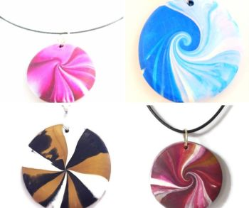 Swirl Pendant Project Kit
