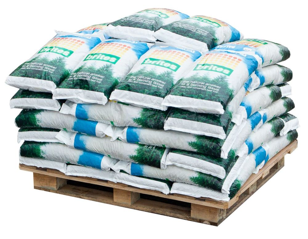 50 x 10kg of Brites Wood Pellets (BSL0034721-0001)
