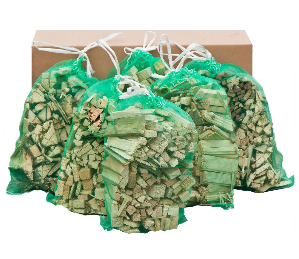 8 Sacks of Netted Kindling
