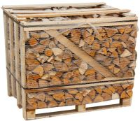 1.17 m3 Crate of Kiln Dried Hardwood Logs Delivered