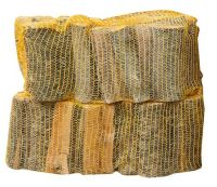 2 Netted Sacks of Kiln Dried Netted Logs