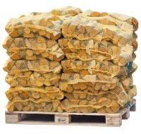 70 Netted Sacks of Kiln Dried Netted Logs