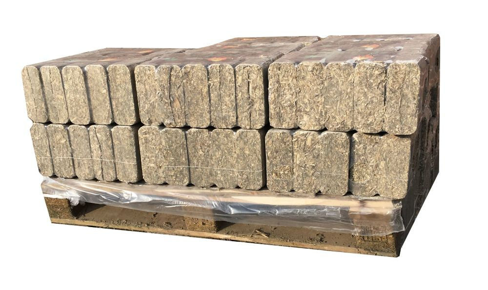 250kg of Hemp Heat Logs