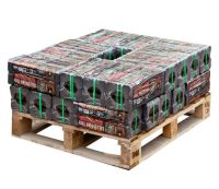 250kg Pallet of genuine Irish peat briquettes - Small Pallet
