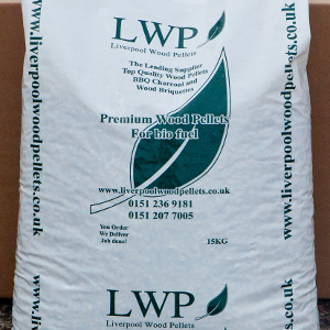 15kg of LWP Premium Wood Pellets