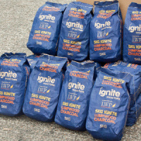 18 x 5kg bags of Lumpwood Charcoal