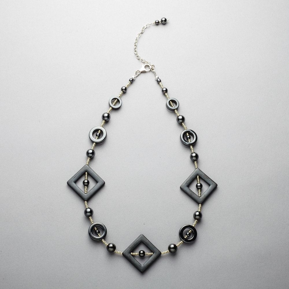 Necklace - Hematite