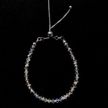 Bracelet - Swarovski Crystal - Sterling Silver