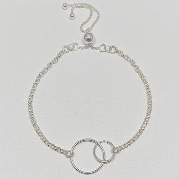 Bracelet -  Circle Double Loop