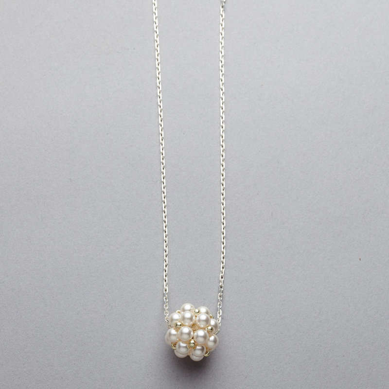 Necklace - Swarovski Pearl Cluster