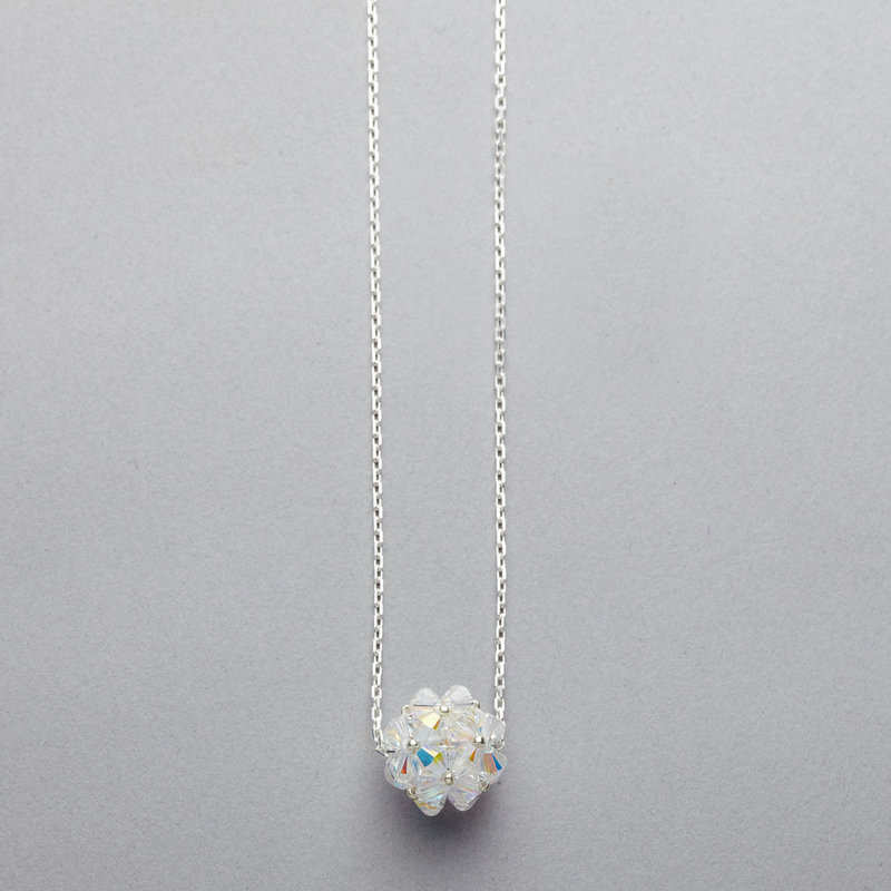 Necklace - Swarovski Crystal Cluster