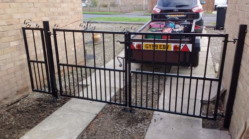 york gates double gates and infill panel