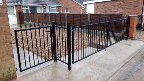 york gates double single and matching short panel yorkshire