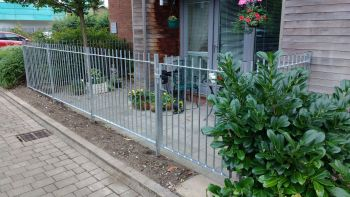 York Gates galvanised railings