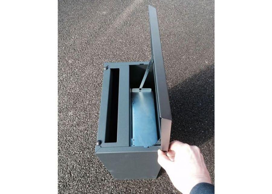 York Gates parcel drop box P3 b