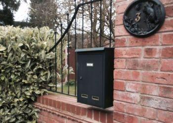 Wall Parcel drop box