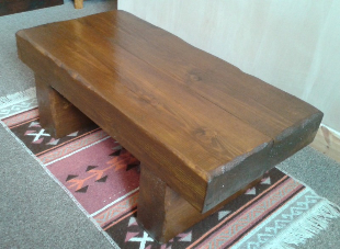 York Gates chunky coffee table 1