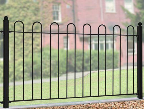Bow Top railings