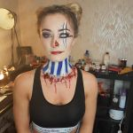 facepaint clown