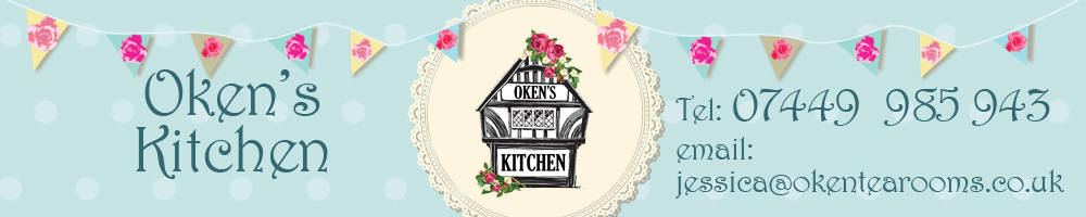 Oken's Kitchen, site logo.
