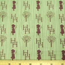 Holly Hobbie Trees And Silhouettes - 100% Cotton