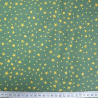 Stars - Bottle-Yellow - Polycotton