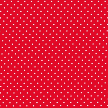Michael Miller Fabric - On The Town Pinhead (Red)
