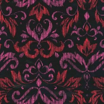 Michael Miller Fabric - On The Town Blooming Damask
