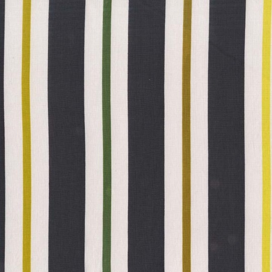 Kimono Stripe (Citron) - Seedling Collection - Michael Miller