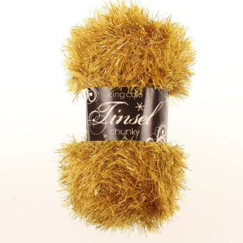 King Cole - Tinsel Chunky - Gold