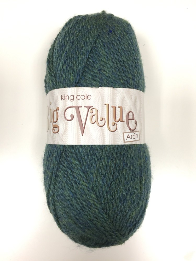 King Cole - Big Value Aran - Seaspray