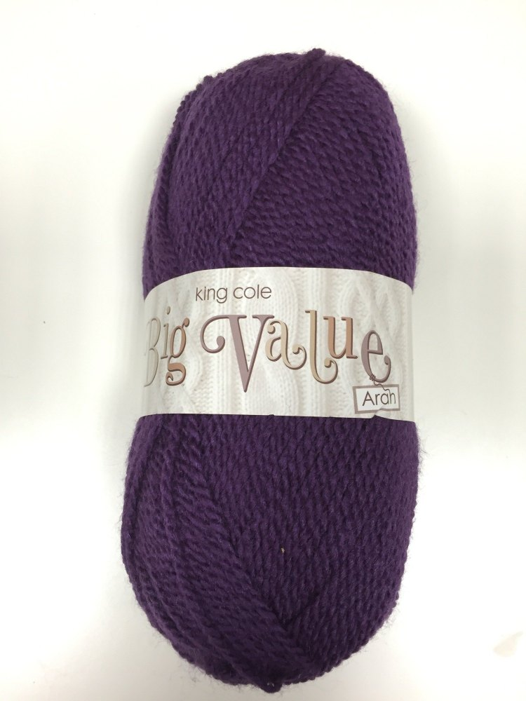 King Cole - Big Value Aran - Damson