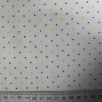 Pinhead Spots - Multicoloured - Polycotton