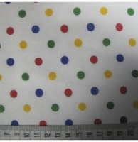 Mini Spots - Multicoloured - Polycotton