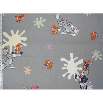Tom & Jerry - Cartoon - 100% Cotton