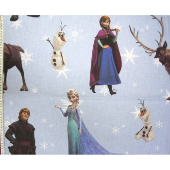 Frozen - Disney - 100% Cotton