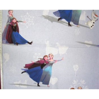 Frozen Skating - Disney - 100% Cotton