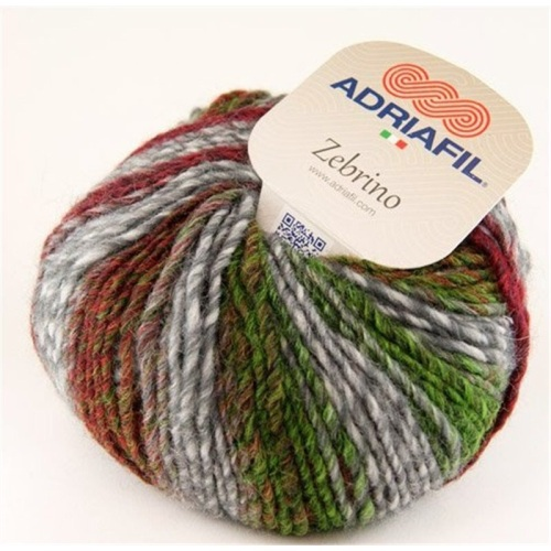 Adriafil - Zebrino Aran - 64 Multicolour Fancy