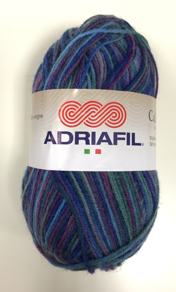 Adriafil - Calzasocks Sock Yarn - 20 Multi-Purple