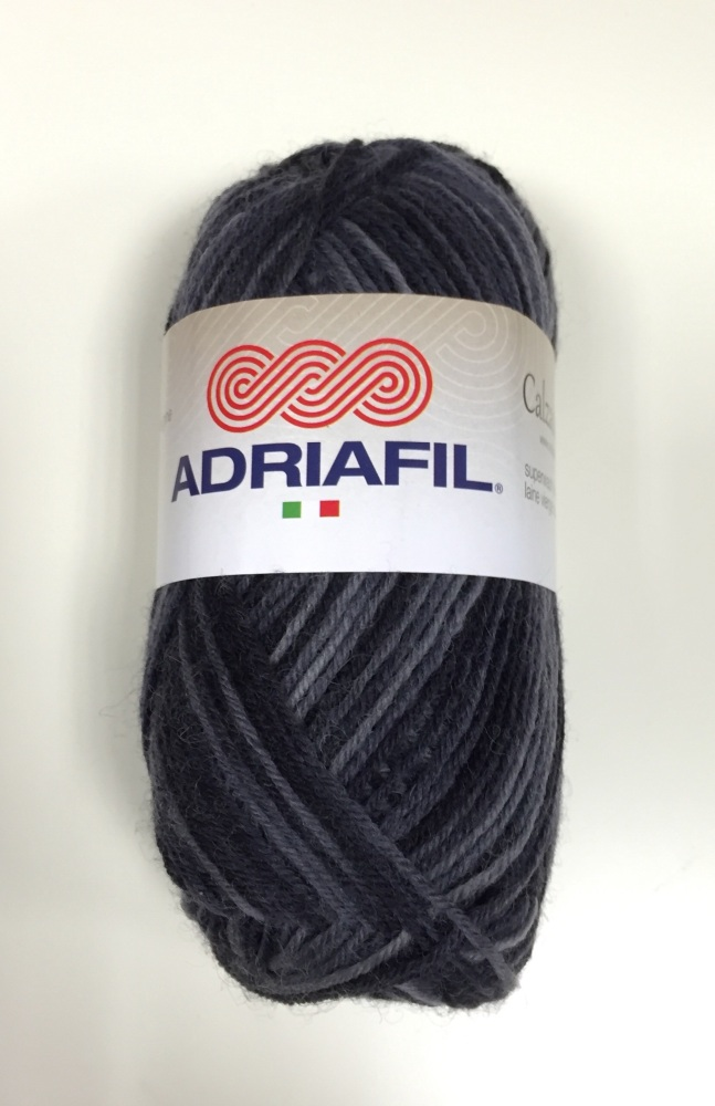 Adriafil - Calzasocks Sock Yarn - 50 Multi-Grey