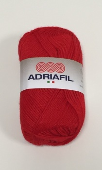 Adriafil Filobello DK Yarn - 17 Red - Acrylic Wool Blend