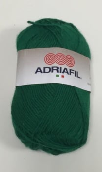 Adriafil Filobello Yarn DK - 25 Bottle Green - 80% Acrylic 20% Wool