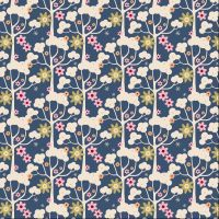 Wild Garden Dark Blue - Pardon My Garden Collection - Tilda