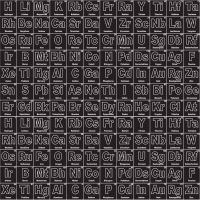 Riley Blake Designs Fabric - Novelty Collection Periodic Black