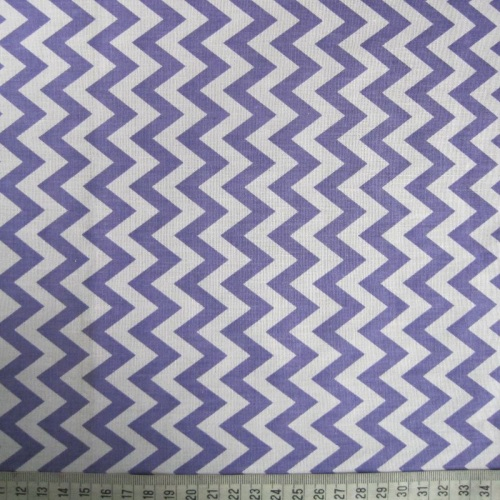 Purple Zig-Zag Pattern on White Background