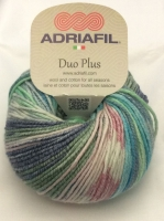 Adriafil Duo Plus DK Variegated Yarn - Baby Fantasy - Wool Cotton Blend