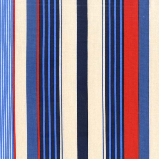 Starboard Stripes Sailor - Yacht Club Collection - Michael Miller
