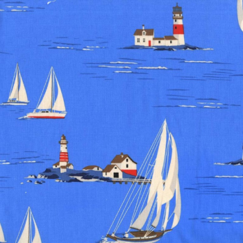Michael Miller Fabric - Yacht Club Windward Sailor