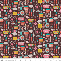 Riley Blake Designs Fabric - Vintage Kitchen Collection Main